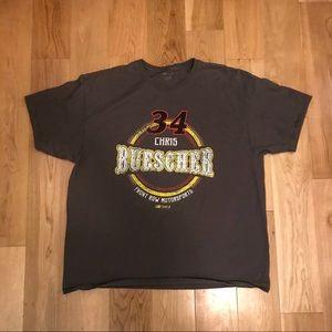 Chris Buescher Shirt NASCAR. #34  XXL 2XL
